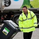Oxigen Waste Collector Brendan Keena does his bit to keep Westmeath clean.